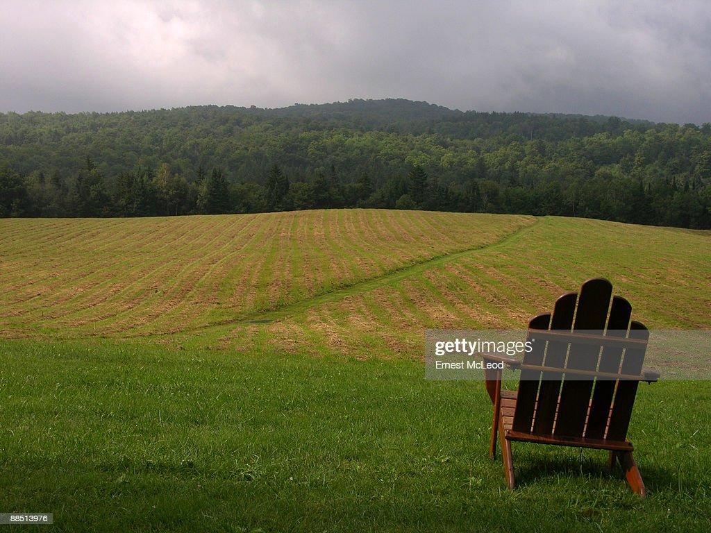 Hills of Vermont Landscape