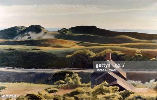 Hills South Truro by Edward Hopper