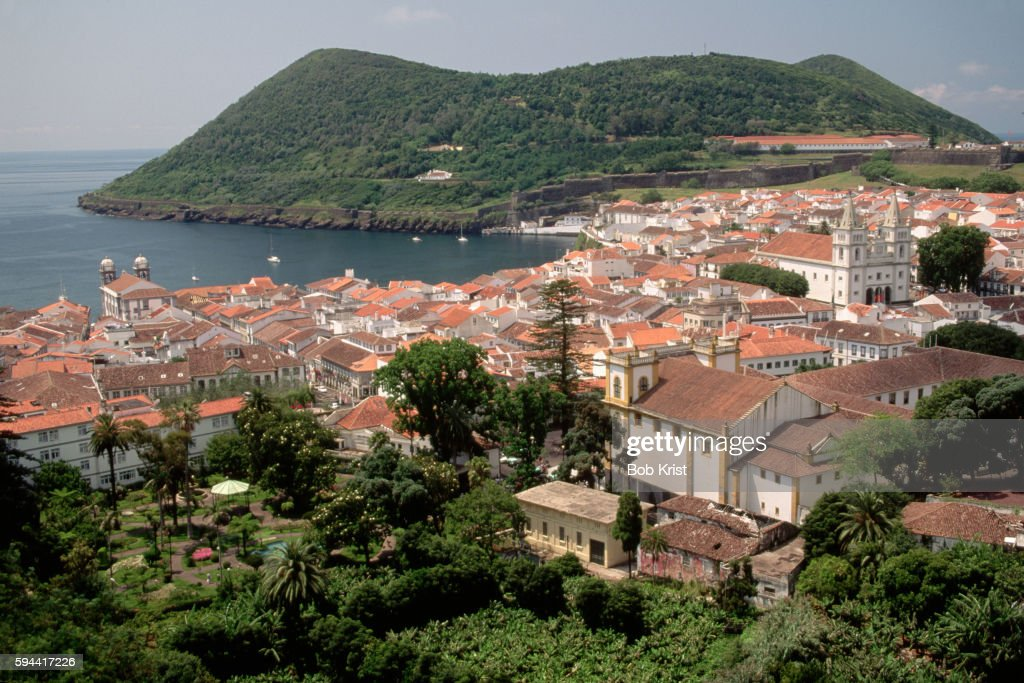 Hillside View of Angra do Heroismo