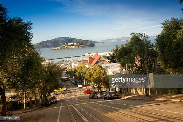 Hilly roads of San Francisco
