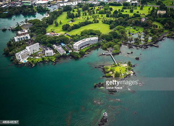 Hilo Coconut Island from Above