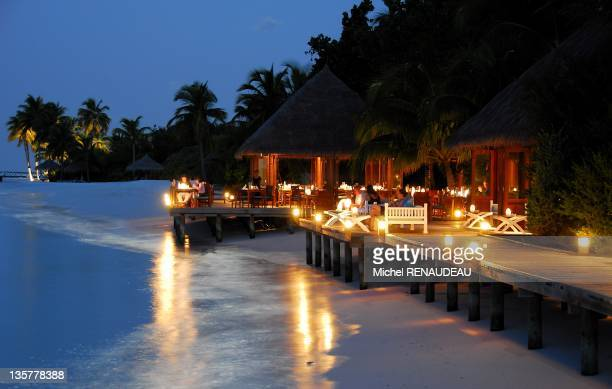 Hilton Maldives Resort on July 2007 on the Island of Rangali Maldive Islands