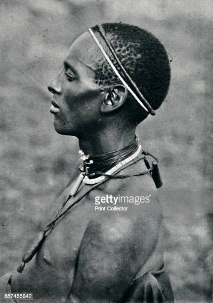 A Hima from Mpororo Equatorial Africa west of the Victoria Nyanza 1912 From The Living Races of Mankind Vol II [Hutchinson Co London 1912] Artist...