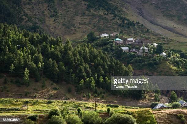 Himachal Pradesh landscape view in Summer