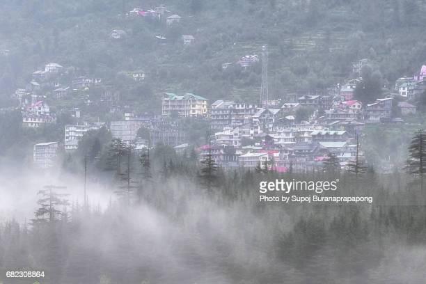 Himachal Pradesh Manali village in morning summer season, india
