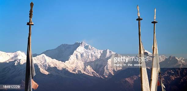 Himalayan Landscape with Kanchenjunga