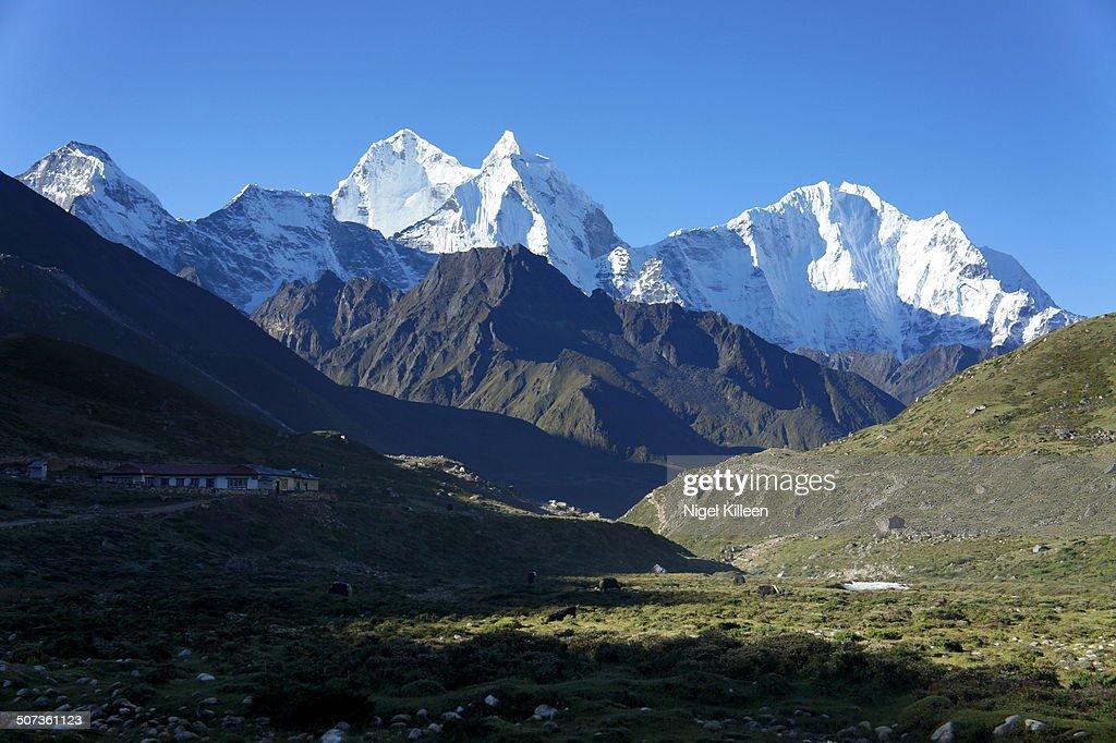 Himalayan peak Kangtega, on Everest base Camp trek