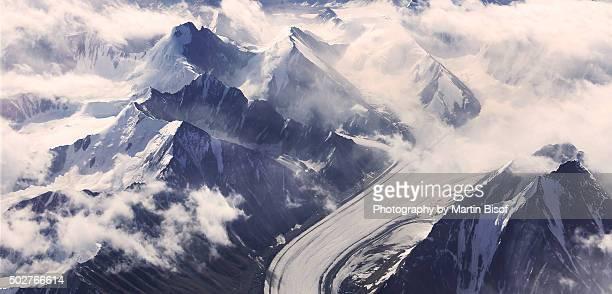 Himalayas aerial view
