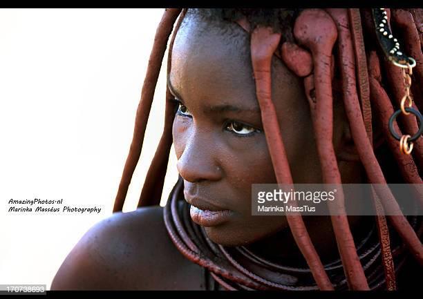 CONTENT] Himba woman Himba tribe in Himba village near Opuwo Namibia