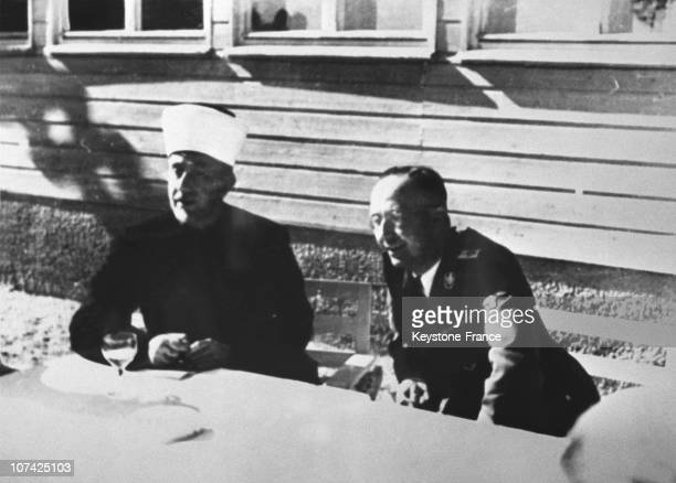 Himmler And The Jerusalem Mufti In Forties