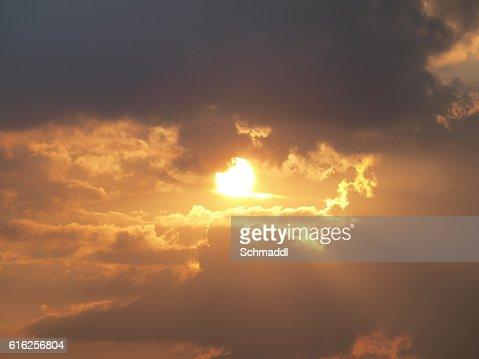 Himmlischer Lichtblick : Stock Photo