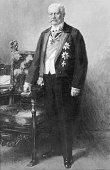 Hindenburg Paul von *02101847Offizier Politiker DGeneralfeldmarschallReichspraesident Portrait Gemaelde von Hugo Vogel 1927