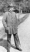 Hindenburg Paul von Politician Field Marshal Germany President of the German Reich *02101847Portrait 1925 picture taken by Stenner in Schierke...