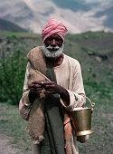 Hindu Holy Man Near Muktinath, Nepal