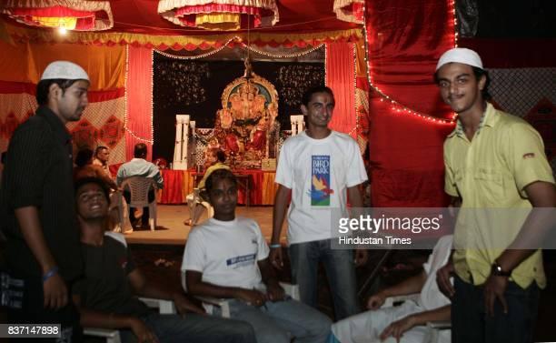 Hindu Muslim Unity Religion National Integration Swapnil Savardekar a Hindu Standing in centre fasts every Ramadan for his Muslim friend who passed...