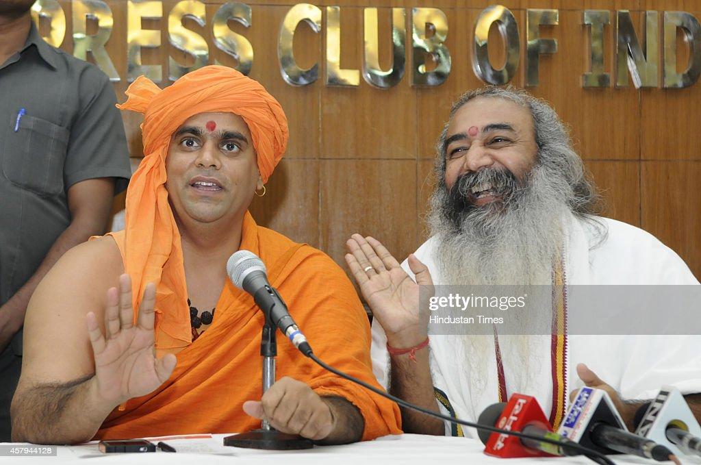 Unique Akhil Bharat Hindu Mahasabha chief Swami Chakrapani HD Wallpapers for Free Download