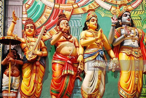 Hindu Sages and Gods