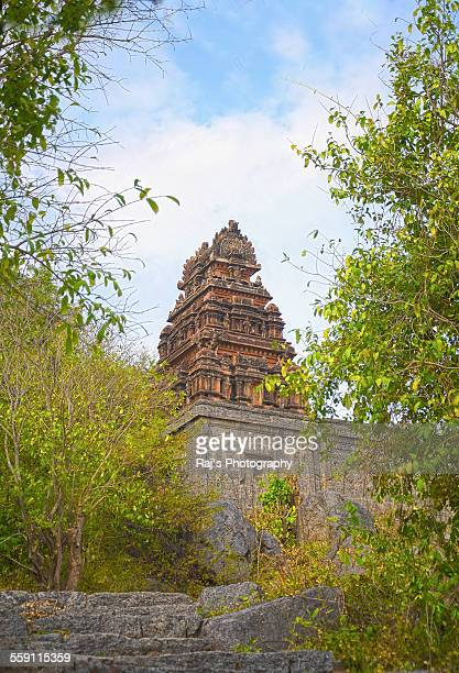 A hindu temple in the ruins of Gingee Fort