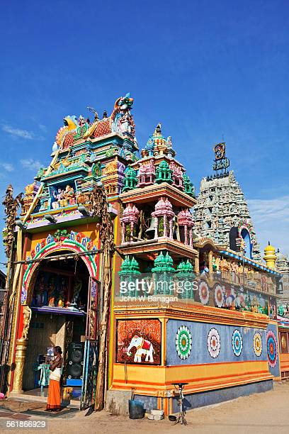 Hindu temple Kali Kovil in central Trincomalee
