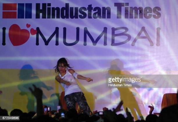 Hindustan Times Youth Nexus Dance competition winner Thakur College perform at Andheri Sports Complex