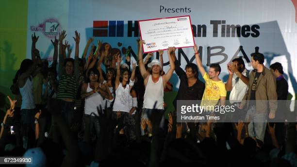 Hindustan Times Youth Nexus Dance competition winner Thakur College at Andheri Sports Complex