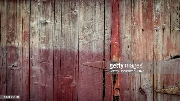 Hinge on old barn door