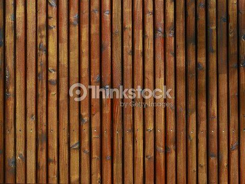 Hintergrund Holz Textur Aus Palisaden Zaun Werbeflache Rotlic Stock