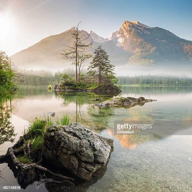 Hintersee bayerische im Nationalpark Berchtesgaden
