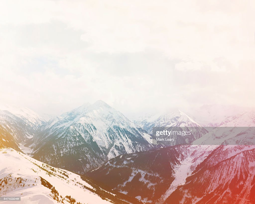 Hintertux valley : Stock Photo