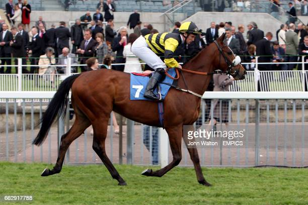 Hinton Admiral ridden by jockey Frederik Tylicki competes in the Emirates Airline Yorkshire Cup at York racecourse