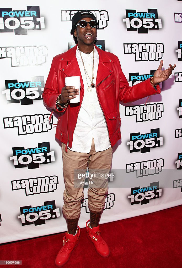 Hip hop artist 2 Chainz attends Power 105.1's Powerhouse 2013, presented by Play GIG-IT, at Barclays Center on November 2, 2013 in New York City.