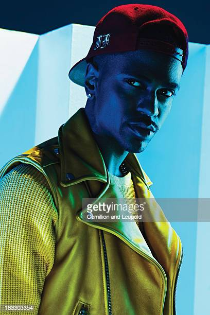Hip hop artist Big Sean is photographed for Vibe Magazine on December 17 2012 in New York City PUBLISHED IMAGE