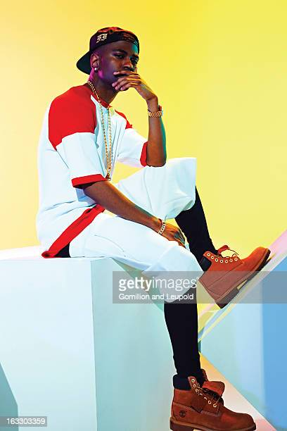Hip hop artist Big Sean is photographed for Vibe Magazine on December 17 2012 in New York City