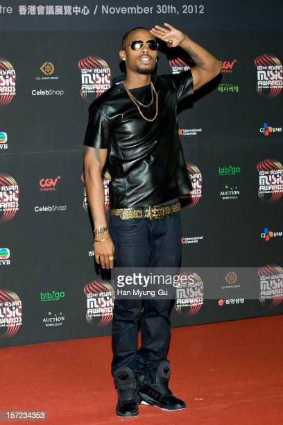 Hip Hop artist BoB attends the 2012 Mnet Asian Music Awards Red Carpet on November 30 2012 in Hong Kong Hong Kong
