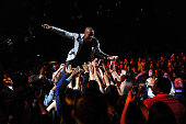 Hip Hop artist BOB performs onstage during Z100's Jingle Ball 2012 presented by Aeropostale at Madison Square Garden on December 7 2012 in New York...
