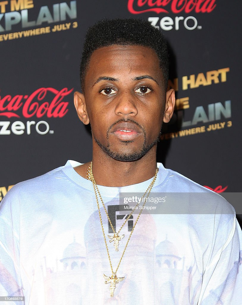Hip Hop artist <a gi-track='captionPersonalityLinkClicked' href=/galleries/search?phrase=Fabolous&family=editorial&specificpeople=215255 ng-click='$event.stopPropagation()'>Fabolous</a> attends the 'Kevin Hart:Let Me Explain' premiere at Regal Cinemas Union Square on June 19, 2013 in New York City.
