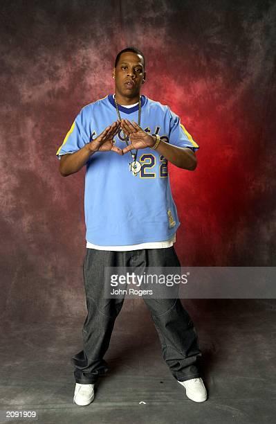 Hip hop artist Jay Z backstage at the MTV Europe Awards 2001 in Festhalle Frankfurt Germany November 8 2001