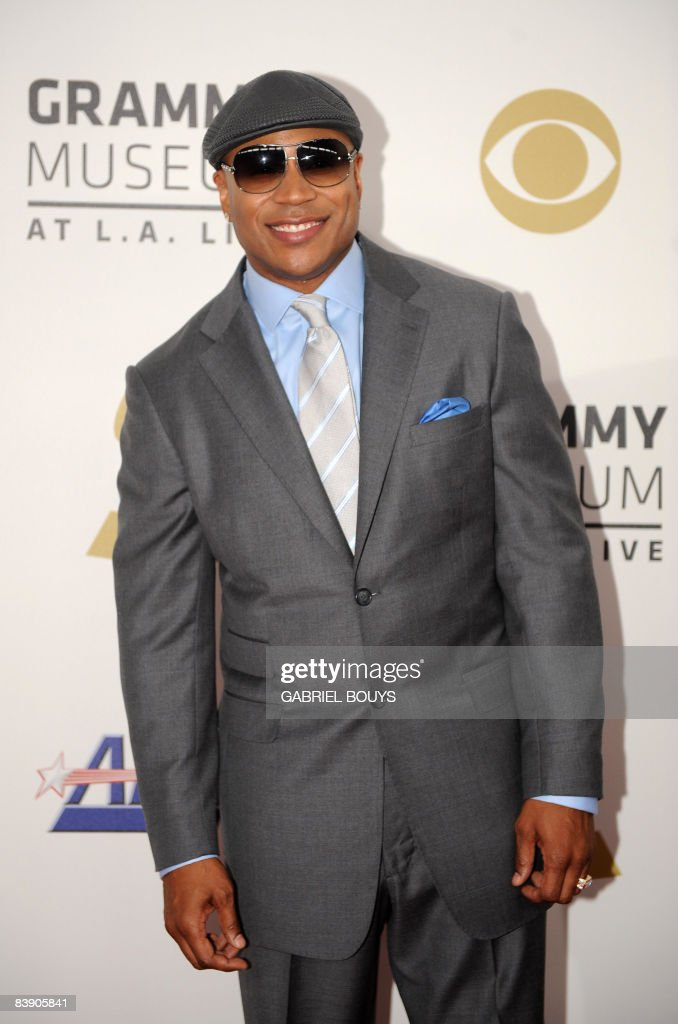 Hip hop artist <a gi-track='captionPersonalityLinkClicked' href=/galleries/search?phrase=LL+Cool+J&family=editorial&specificpeople=201567 ng-click='$event.stopPropagation()'>LL Cool J</a> arrives at the nominations announcement for the 51st Grammy Awards, on December 3, 2008 at the Nokia Theater at L.A. Live in downtown Los Angeles, California.