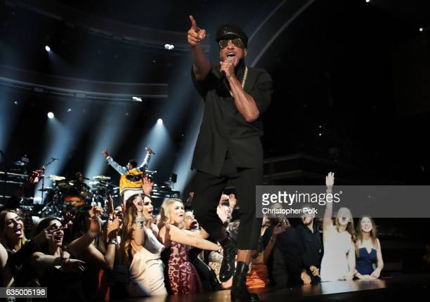 Hip Hop Artist QTip of A Tribe Called Quest during The 59th GRAMMY Awards at STAPLES Center on February 12 2017 in Los Angeles California