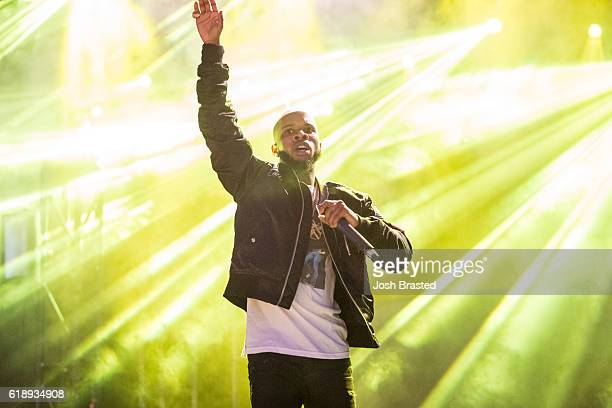 Hip hop artist Tory Lanez performs during the Voodoo Music Arts Experience at City Park on October 28 2016 in New Orleans Louisiana
