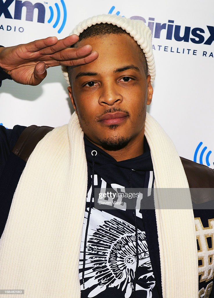 Hip hop recording artist/actor <a gi-track='captionPersonalityLinkClicked' href=/galleries/search?phrase=T.I.&family=editorial&specificpeople=221599 ng-click='$event.stopPropagation()'>T.I.</a> visits the SiriusXM Studios on December 17, 2012 in New York City.
