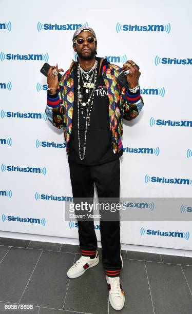 Hiphop artist 2 Chainz visits SiriusXM Studios on June 7 2017 in New York City