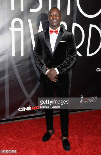Hiphop artist Akon attends the 4th Annual CineFashion Film Awards at El Capitan Theatre on October 8 2017 in Los Angeles California