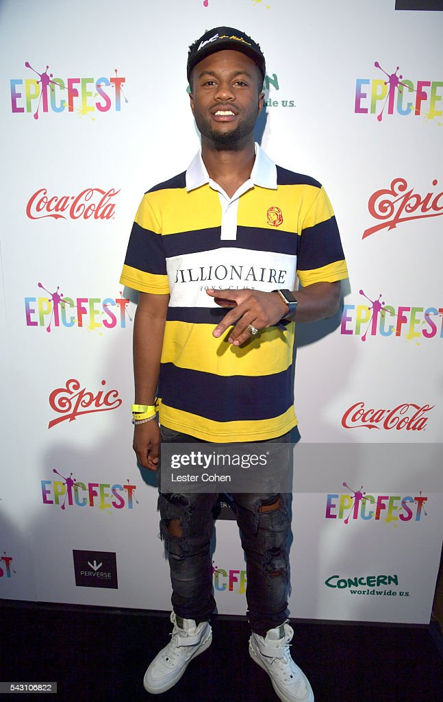 Hip-hop artist Casey Veggies attends EpicFest 2016 hosted by L.A. Reid and Epic Records at Sony Studios on June 25, 2016 in Los Angeles, California.