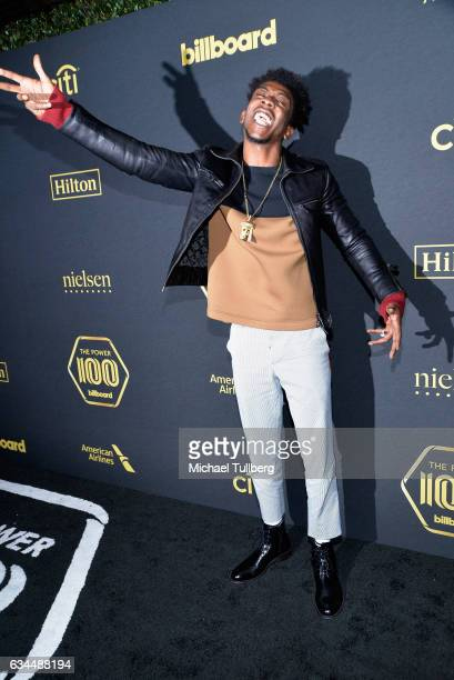Hiphop artist Desiigner attends the 2017 Billboard Power 100 Celebration at Cecconi's on February 9 2017 in West Hollywood California