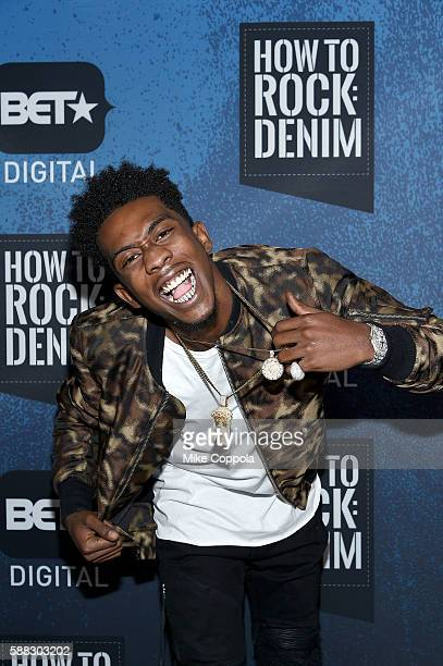 Hiphop artist Desiigner attends the BET How To Rock Denim at Milk Studios on August 10 2016 in New York City
