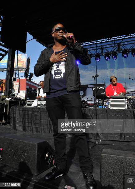 Hiphop artist Doug E Fresh performs live on day 3 of the 6th Annual Sunset Strip Music Festival on August 3 2013 in West Hollywood California