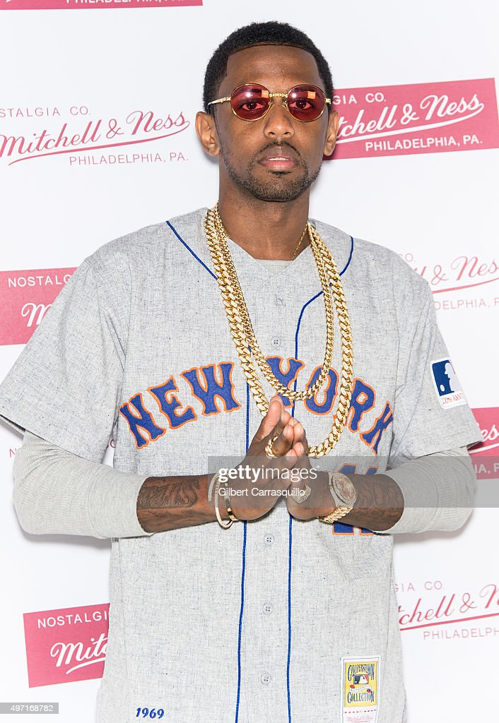 Hip-hop artist Fabolous attends Mitchell & Ness Flagship Store 5th Anniversary at Mitchell & Ness Flagship Store on November 12, 2015 in Philadelphia, Pennsylvania.