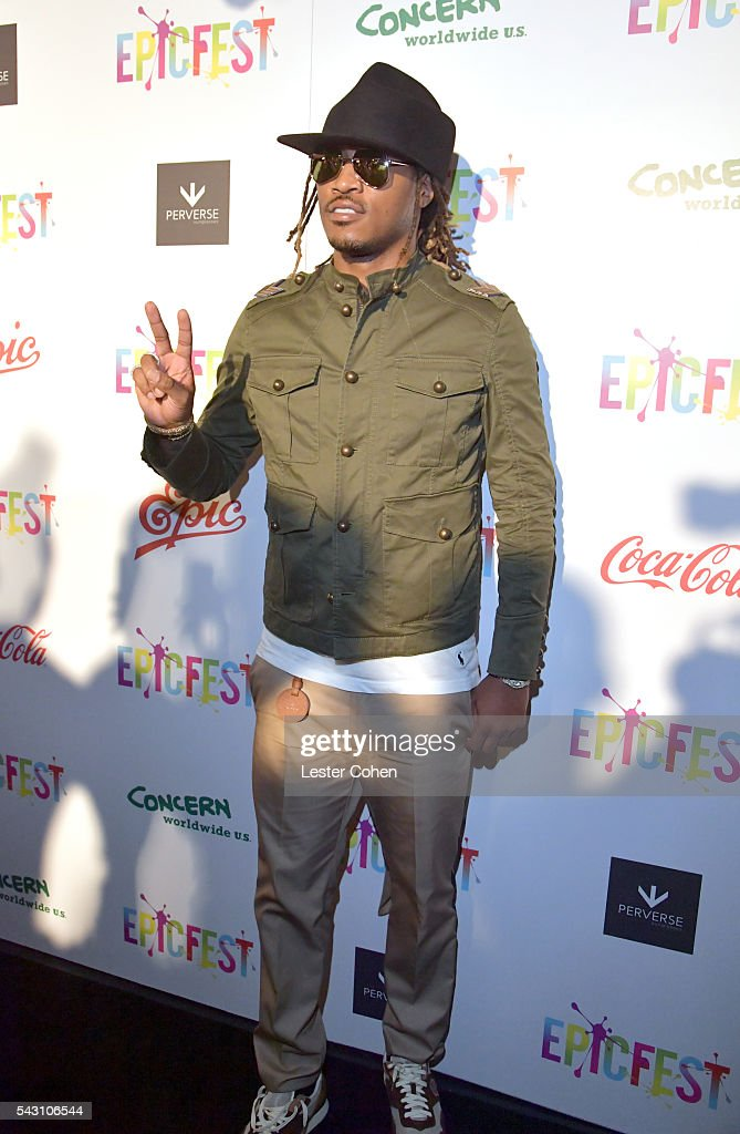 Hip-hop artist Future attends EpicFest 2016 hosted by L.A. Reid and Epic Records at Sony Studios on June 25, 2016 in Los Angeles, California.