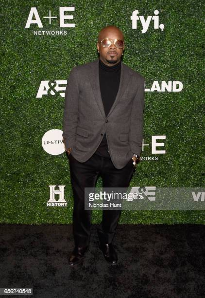 Hiphop artist Jermaine Dupri attends the 2017 AE Networks Upfront At Jazz At Lincoln Center's Frederick P Rose Hall on March 21 2017 in New York City